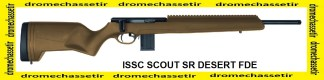Carabine ISSC Scout SR Desert FDE