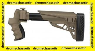 Crosse pliante retractable ATI avec poignée pistolet pour fusil mossberg 500