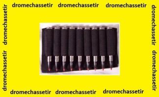 Cartouchiere de crosse pour carabine ( 9 cartouches)