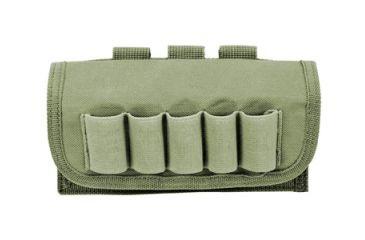 Cartouchiere 17 cartouches de fusil verte