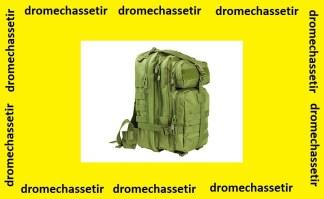 petit sac a dos Back pack tactiques avec multi compartiments kaki