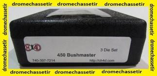 Jeux d'outils CH4d pour le rechargement calibre 450 Bushmaster CH4D