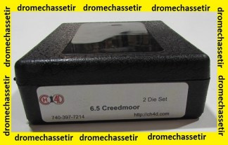 Jeux d'outils CH4D pour le rechargement en calibre 6,5 creedmoor