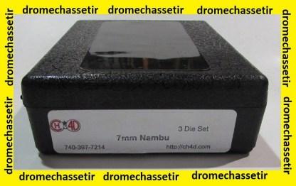 Jeux d'outils CH4D pour le rechargement en calibre 7mm Nambu CH4D