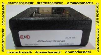 Jeux d'outils CH4D pour le rechargement en calibre 45 Webley Revolver