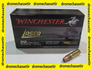 boite de 50 cartouches 22LR Winchester Laser