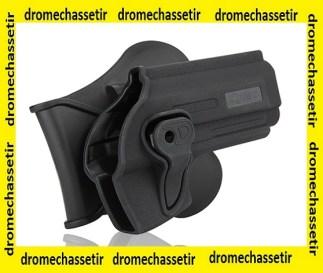Holster avec passe ceinture pour Glock 17/19/22/23/26/27/31/32