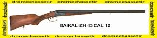 Fusil Juxtaposé Baikal IZH 43