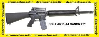 Fusil Colt AR15 A4