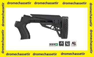 Crosse tactique retractable à 6 positions pour fusil a pompes mossberg et maverick (ATI)