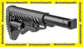 Crosse tactique type M4 pour Saiga