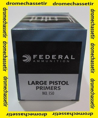 pack de 1000 amorces large Pistol de marque Federal 150 Federal