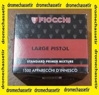 lot de 1500 amorces Fiocchi Large Pistol