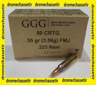 Boite de 50 Cartouches GGG
