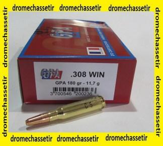 1 boite de 20 cartouches calibre 308 winchester