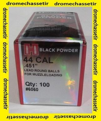 Boite 100 balles ronde Hornady