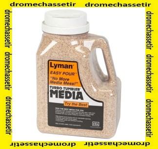 Bidon de media Lyman non traité 6 LBS