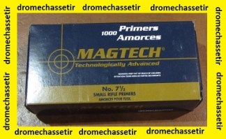 Paquet de 1000 amorces MAGTECH SMALL RIFLE