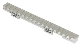 Rail picatinny pour ruger mini silver