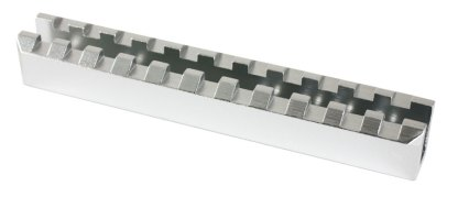 Rail picatinny haut type U pour ruger 10/22 silver