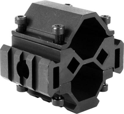 Montage 3 rails pour fusil monocanon et pompes