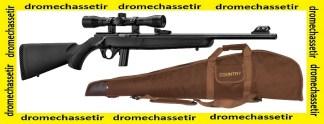Pack carabine Mossberg Plinkster synthetique cal 22lr