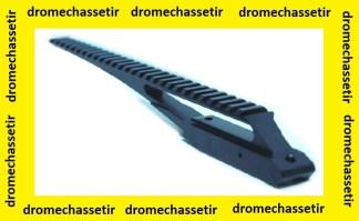 Long rail picatinny en 21mm de largeur pour Mosin Nagant M44 et 38