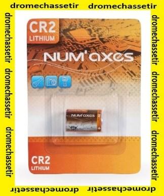 Blister 1 pile CR2 lithium 3V