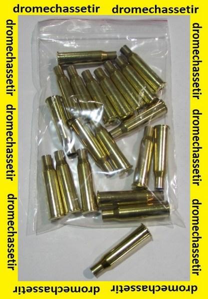 Lot de 20 douilles laiton Partizan en calibre 7