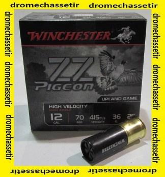 Boite 25 cartouches Winchester ZZ Pigeon