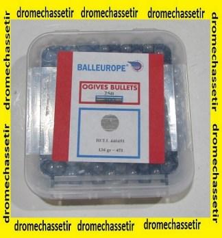 boite de 250 balles ronde poudre noire, cal 451, 136 grains, Balleurope