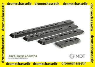 rail MDT ARCA M-lok pour chassis LSS XL Gen 2, ref 103418