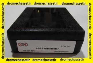 Jeux d'outils CH4D pour le rechargement en calibre 40-65 Winchester