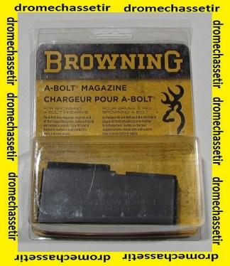 Chargeur acier pour browning Abolt 2 cal 300 winchester magnum