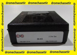 Jeu d'outils CH4D de rechargement en calibre 30-03