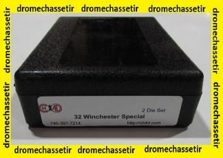 Jeux d'outils CH4D de rechargement en calibre 32 Winchester Special