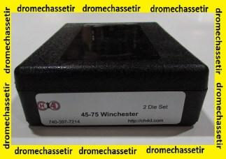 Jeux d'outils CH4D de rechargement en calibre 45-75 Winchester