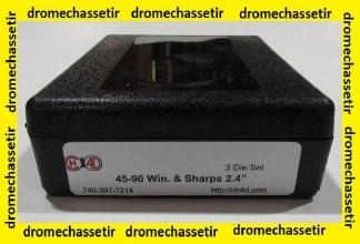 """Jeux d'outils CH4D de rechargement en calibre 45-90Win & Sharps 2,4"""""""