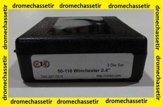 """Jeux d'outils CH4D de rechargement en calibre 50-110Win 2,4"""""""