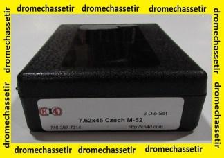 Jeux d'outils CH4D de rechargement en calibre 7.62x45 Czech M-52