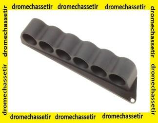 Cartouchiere Aluminium pour mossberg 500 et 590, maverick 88, pour 6 cartouches calibre 12