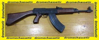 Fusil semi auto CZ 858 , cal 7.62 x 39 , canon 37,5cm, tres bon etat