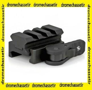 adaptateur picatinny pour bipied accu-shot a serrage rapide, BT43