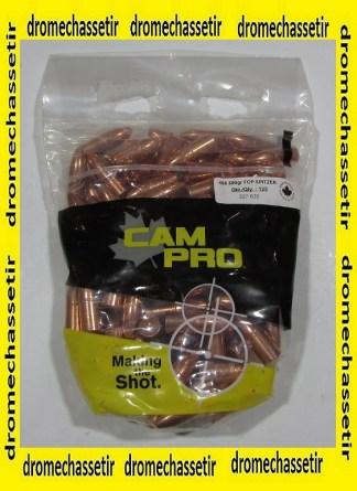 sachet de 125 ogives Cam-pro, cal 458, 500 grains, CP