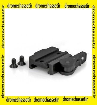 interface picatinny pour bipied accu-shot a serrage rapide, ADM-170-S