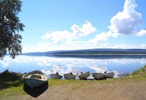 Foto Jormvattnets Fiskecamp