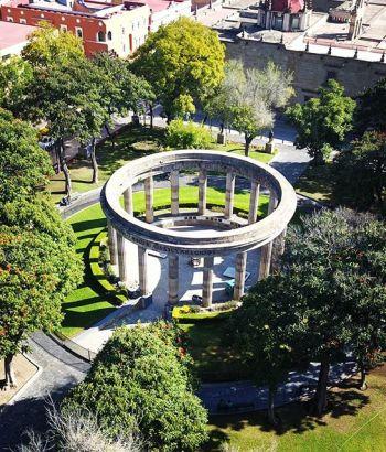 La Rotonda de los jaliscienses ilustres en Guadalajara
