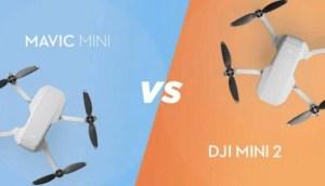 DJI Mini2 vs Mavic Mini