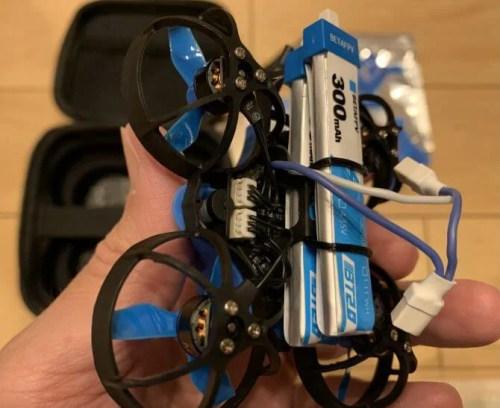 Beta65X HDのバッテリー搭載