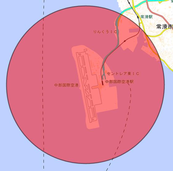 中部国際空港_半径4000m